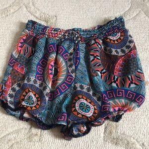 Vintage Havana Flowy Shorts